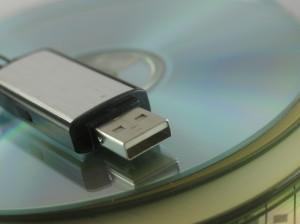 CD, USB drive